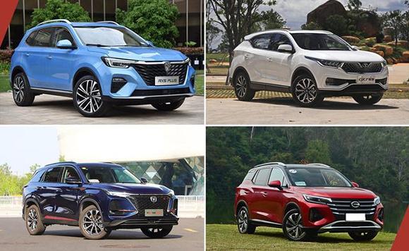 四款国产紧凑级SUV推荐