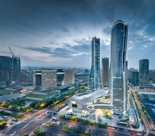 上海第三座来福士24日亮相北外滩 2020年全面开业