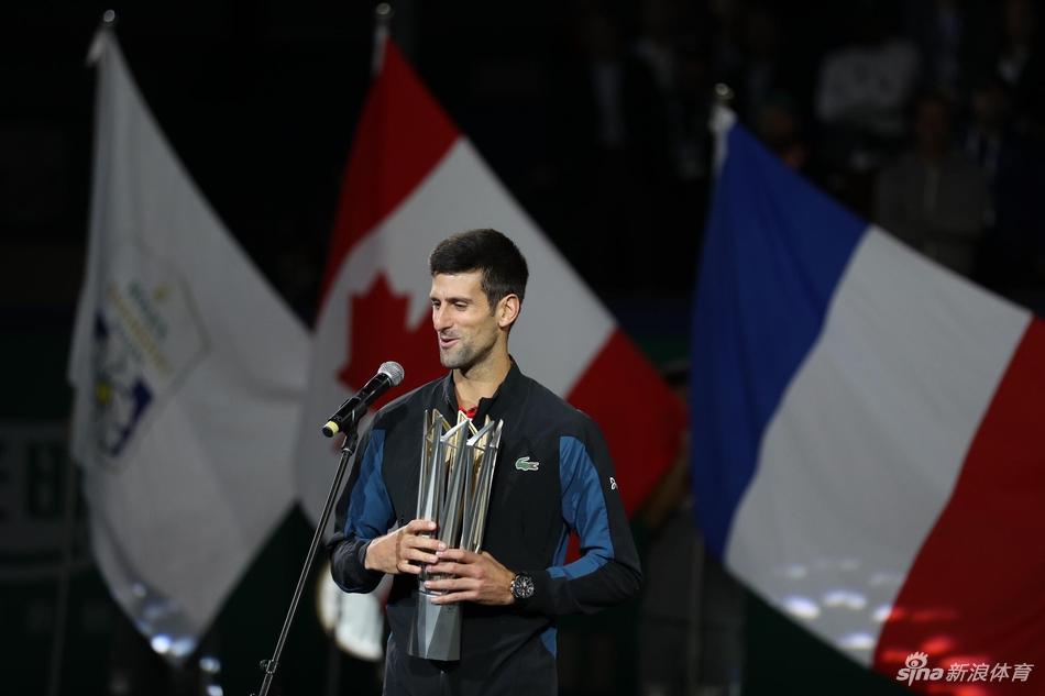 上海网球大师赛德约科维奇四度封王:上海已经成为福地