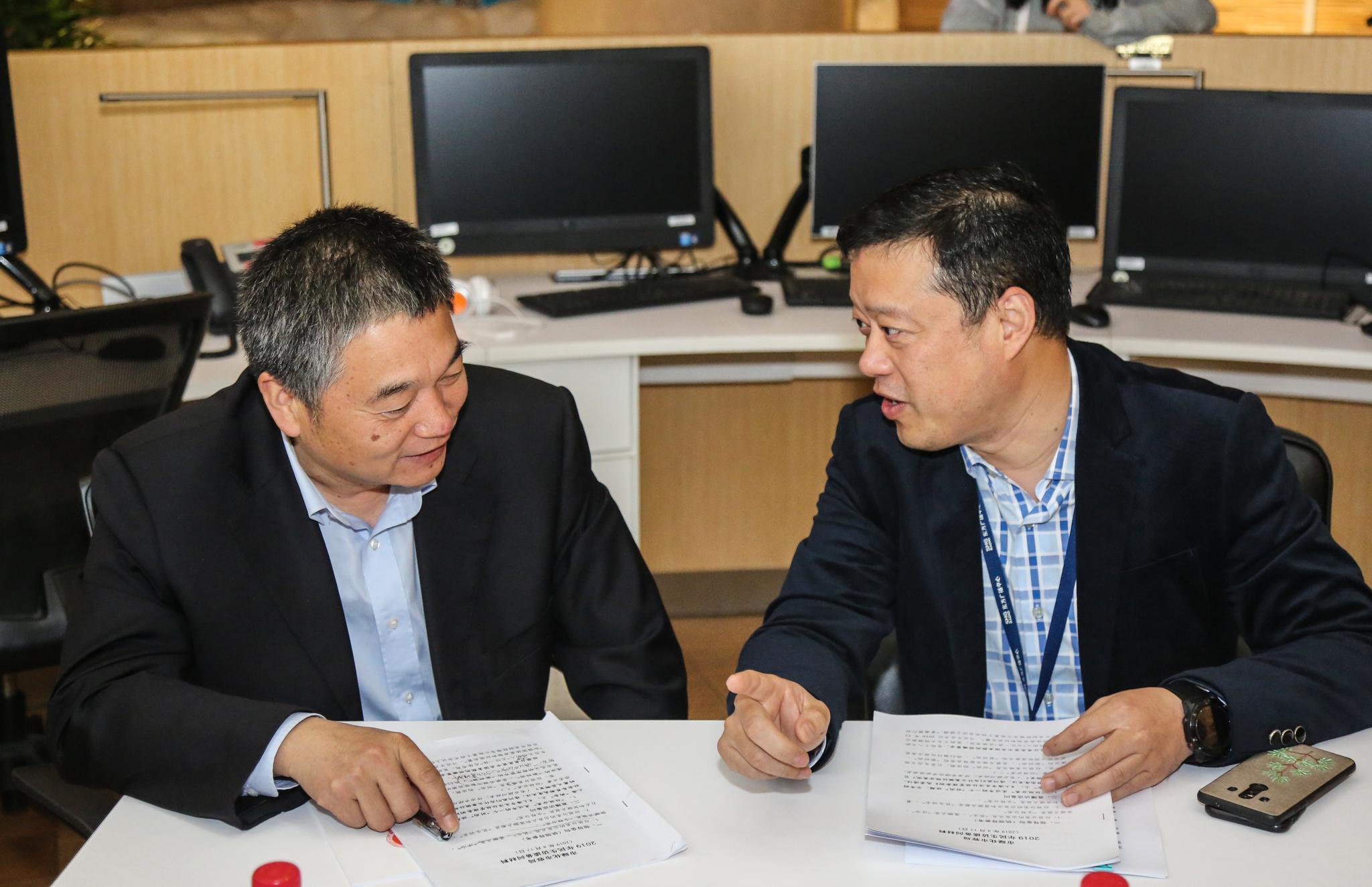 2019上海民生访谈市绿化市容局局长邓建平