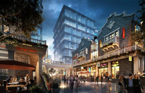 新天地广场11月底试营业 建筑面积达27000平方米