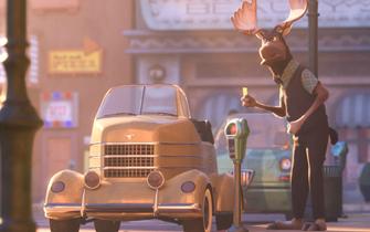 疯狂动物城中的车辆原型