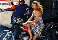 巴西尤物拍摄时尚大片