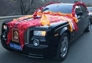 奢华霸气的藏式婚车
