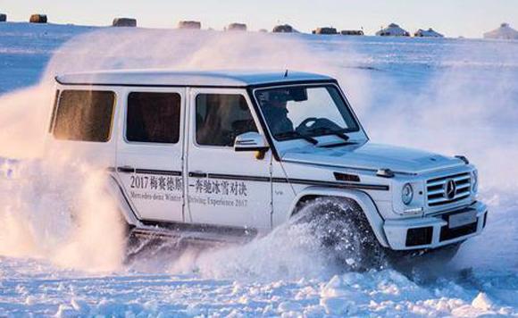 最有意思的冰雪驾驶体验 奔驰冰雪对决
