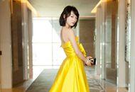 女星黄裙装造型PK