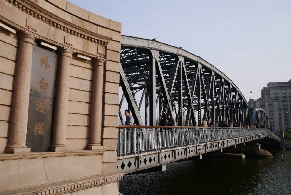 外白渡桥抢修工程进展顺利 预计本周六竣工