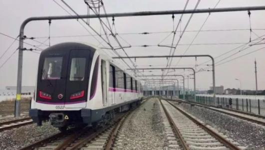 轨交5号线南延伸段年底试运营 沿途经闵行奉贤两区
