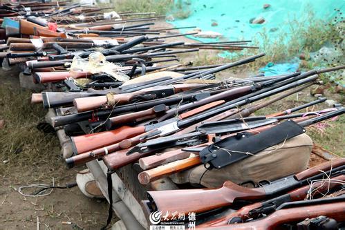 沪打击整治枪爆违法犯罪 销毁一批非法枪支管制刀具