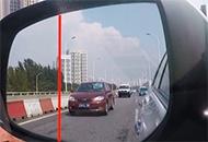 你是如何判断车距的?
