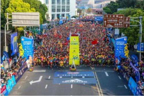 上海国际半程马拉松完赛率超98% 引入少儿迷你马拉松