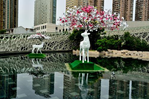 静安国际雕塑展明日迎客 展览焦点展品将缺席开幕式