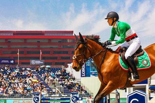 上海环球马术赛举行 上海久事国际马术中心项目将启动