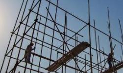 上海一在建工地脚手架拆除时发生事故 造成4人死亡