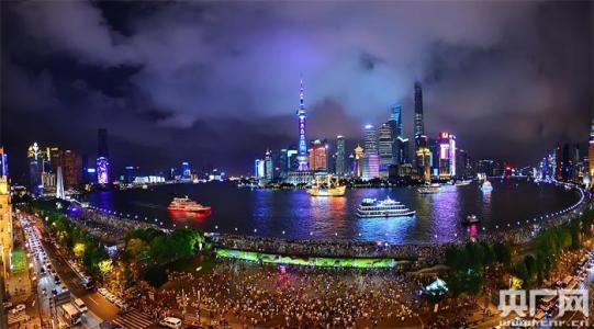 黄浦江两岸景观照明改造 夜景观光线路单程将超40公里