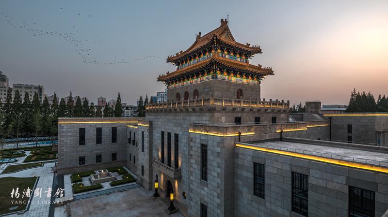 80岁文物建筑变身杨浦区图书馆新馆 今年国庆开馆