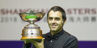 奥沙利文斯诺克上海大师赛夺冠 感叹6年没有新面孔