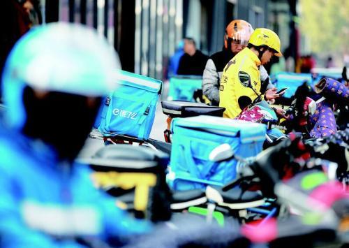 上海等地现外卖骑手招聘陷阱:以高薪作诱饵 高价卖装备