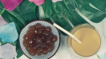 自制香甜珍珠奶茶