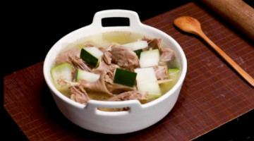 清热解毒的冬瓜老鸭汤