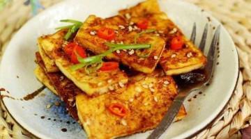吃出烧烤味的孜然香烤豆腐