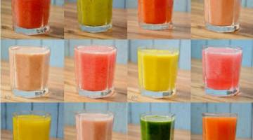 24种鲜榨果蔬汁搭配