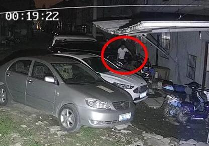 男子因电动车被撞坏 心生贪念当偷车贼