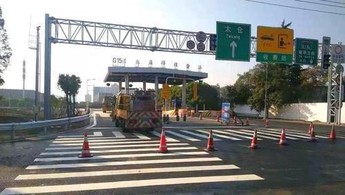 G1501永盛路下匝道开放 缓解嘉定城区南门出口压力