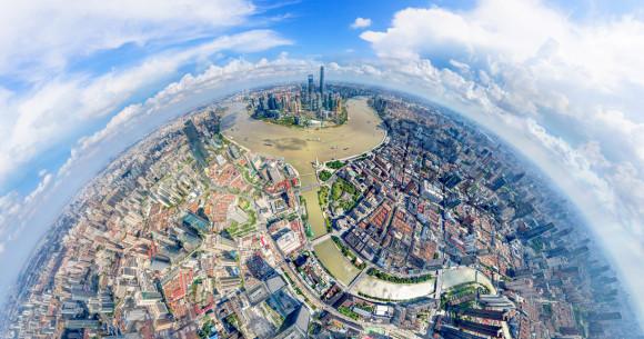 世博旅游综合服务中心启用 浦东滨江建筑全景地图发布