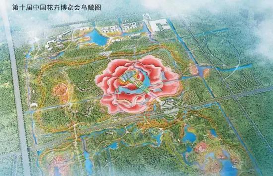 第十届中国花博会鸟瞰图