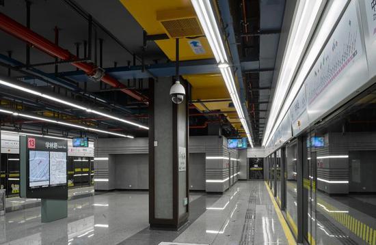 上海13号线标准站系列
