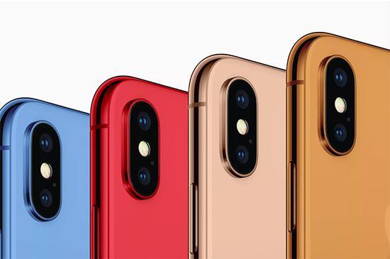 9to5Mac模拟的彩色iPhone概念图