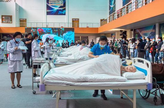 浦东新区长护险服务技能比武项目决赛昨日举行