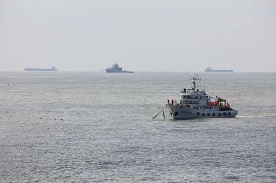 图说:海事、渔政联合执法 采访对象供图