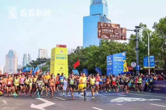 上海国际半马赛共有60363名跑者预报名 抽签结果公布