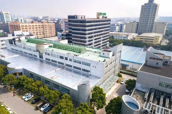 △ 医院主楼俯瞰图
