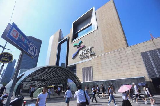浦东再添一大型购物站点 世纪汇广场试营业