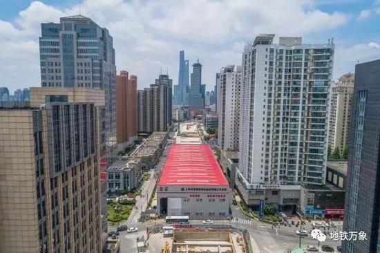 上海轨交14号线迎新进展 设31座地下站穿越五个区