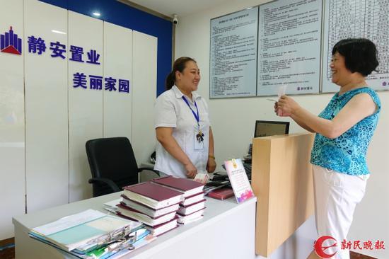 图说:优质物业服务让小区百姓安居。刘歆 摄