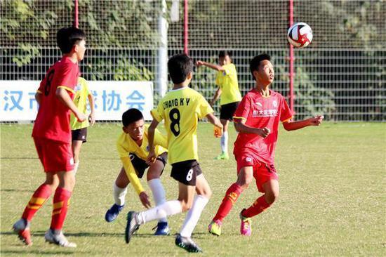 图说:恒大尝试在海外打造青训赛事平台。