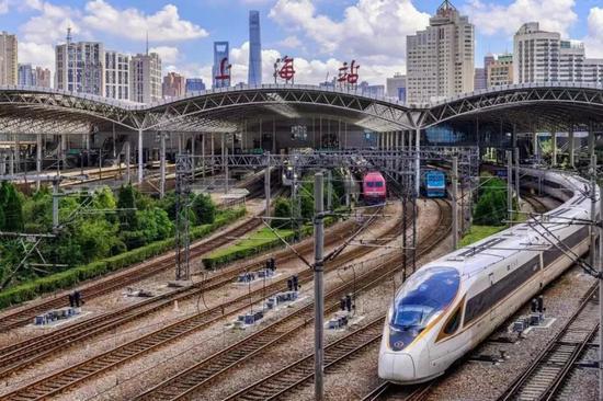 长三角铁路4月10日起调图 增开苏州至上海早高峰高铁