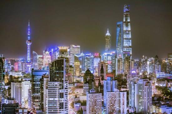 中国城市GDP排名发布 上海上半年16409.9亿元位列第一