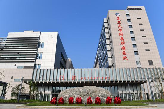 8月23日,位于张江科学城的复旦大学附属肿瘤医院浦东院区正式落成试运行。本文图片医院提供