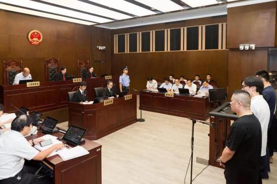 上海一中法院供图