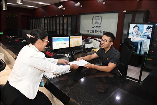 上海法院入驻一网通办半年:服务40万余次 实现5大功能