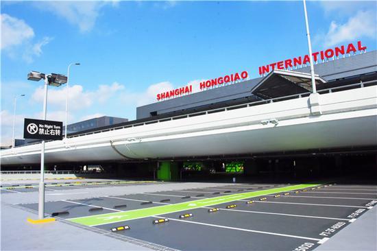 虹桥机场P7停车库2F层区域完成维修 正式开放投用