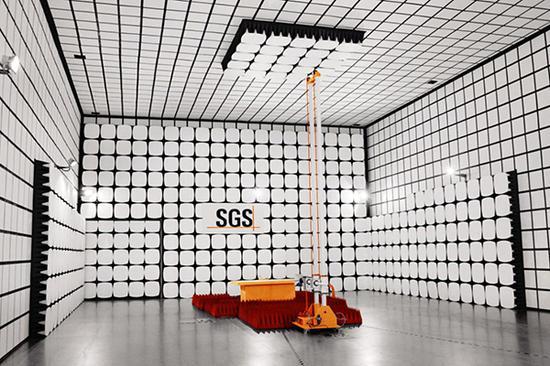 SGS集团将在本届进博会上展出全球首个、行业内唯一的5G检测实验室。 进博局供图
