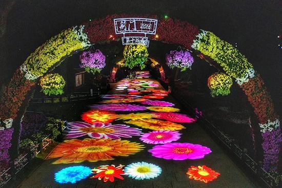 第十三届中国菊花展览会现场