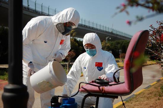 浦东机场守好另一条战线 科学处理疫情航班固废和污水