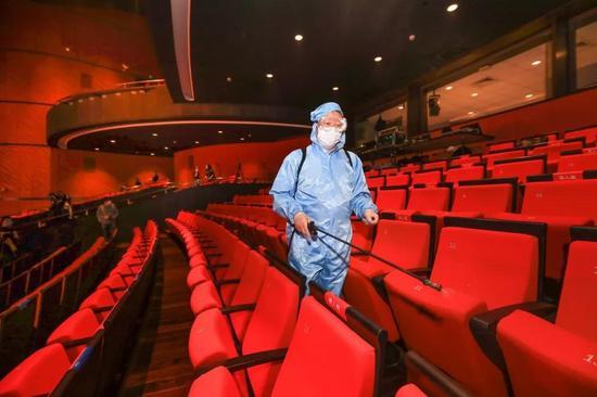 剧场内消毒